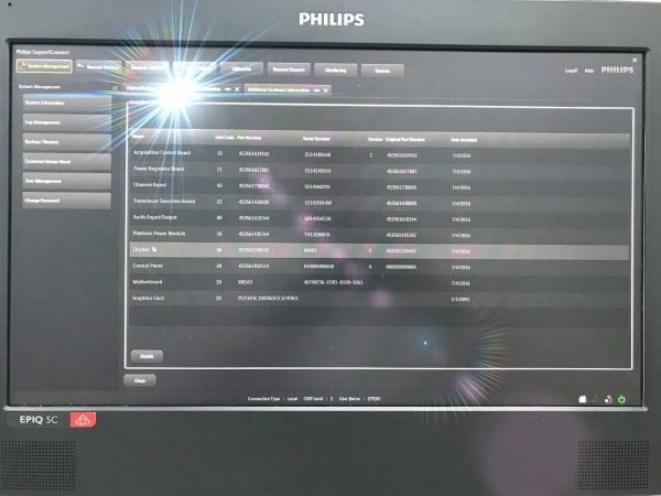 philips epiq 5 support